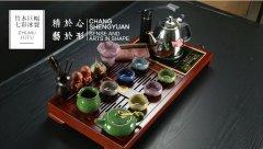 金镶玉茶具