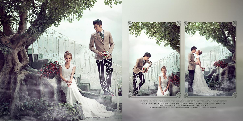兰蔻婚纱摄影
